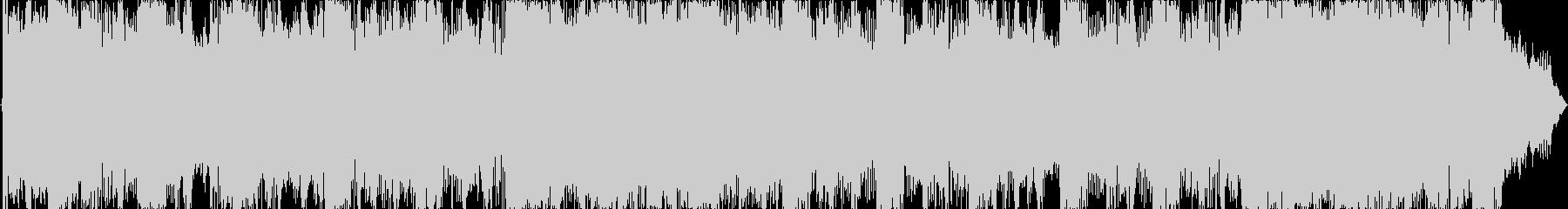 15秒ジャストの明るいロックサウンドの未再生の波形
