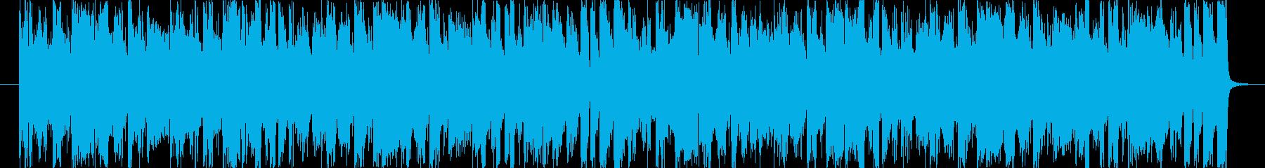 ノリが良くおしゃれなサウンドの再生済みの波形