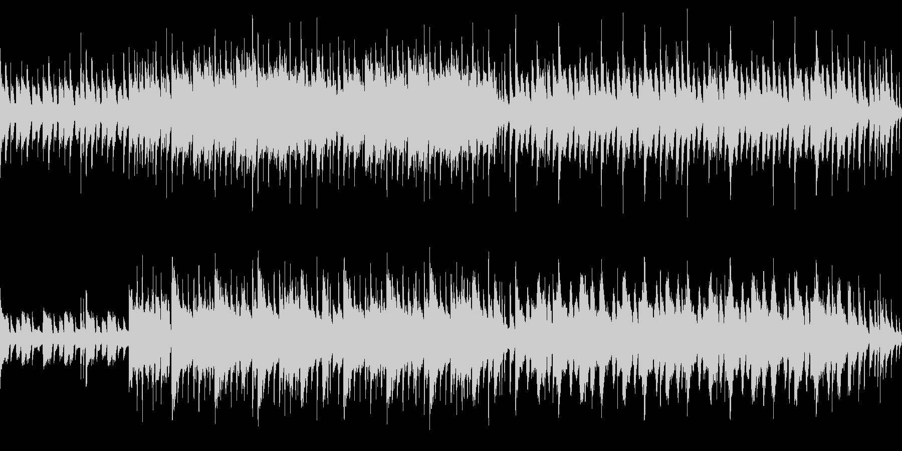 ノンビリした日常系BGMループOKの未再生の波形