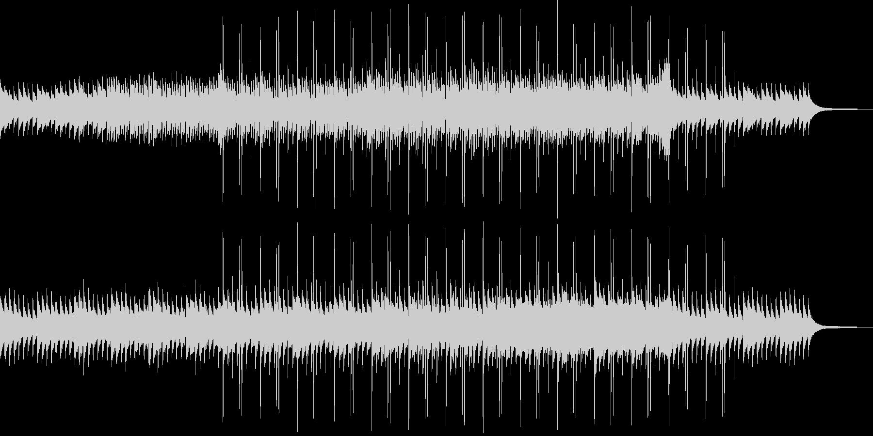 瑞々しさのあるアンビエントな曲の未再生の波形