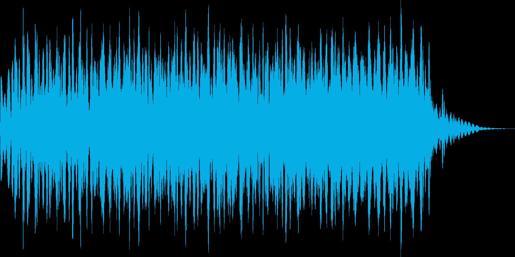 キラキラ(長め またたく星 魔法)の再生済みの波形