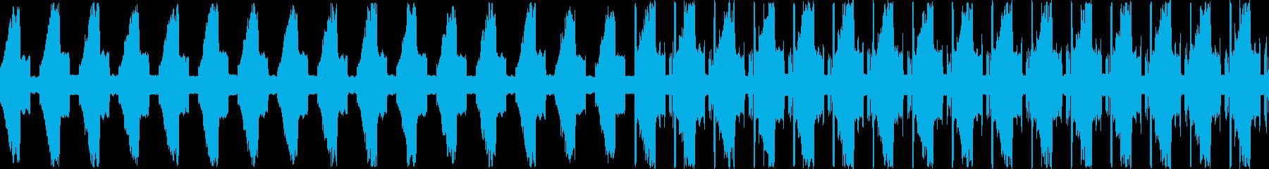 幻想的で浮遊感のあるお洒落な電子音の再生済みの波形