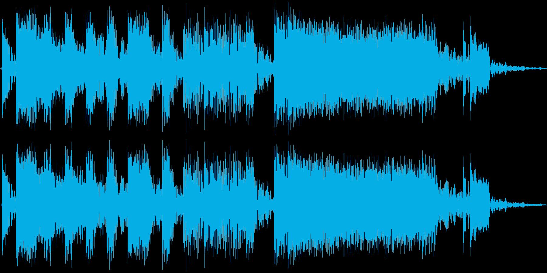 オープニングや番組の途中に期待感を持た…の再生済みの波形