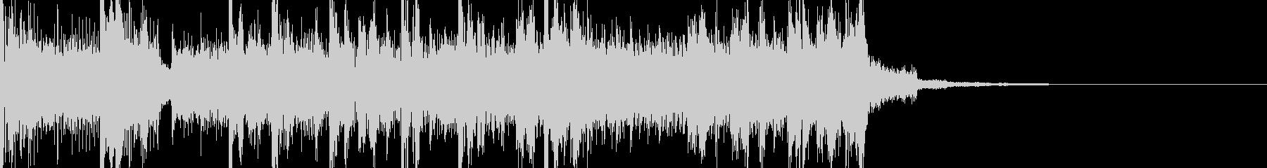 フューチャーサイエンスなサウンドロゴの未再生の波形