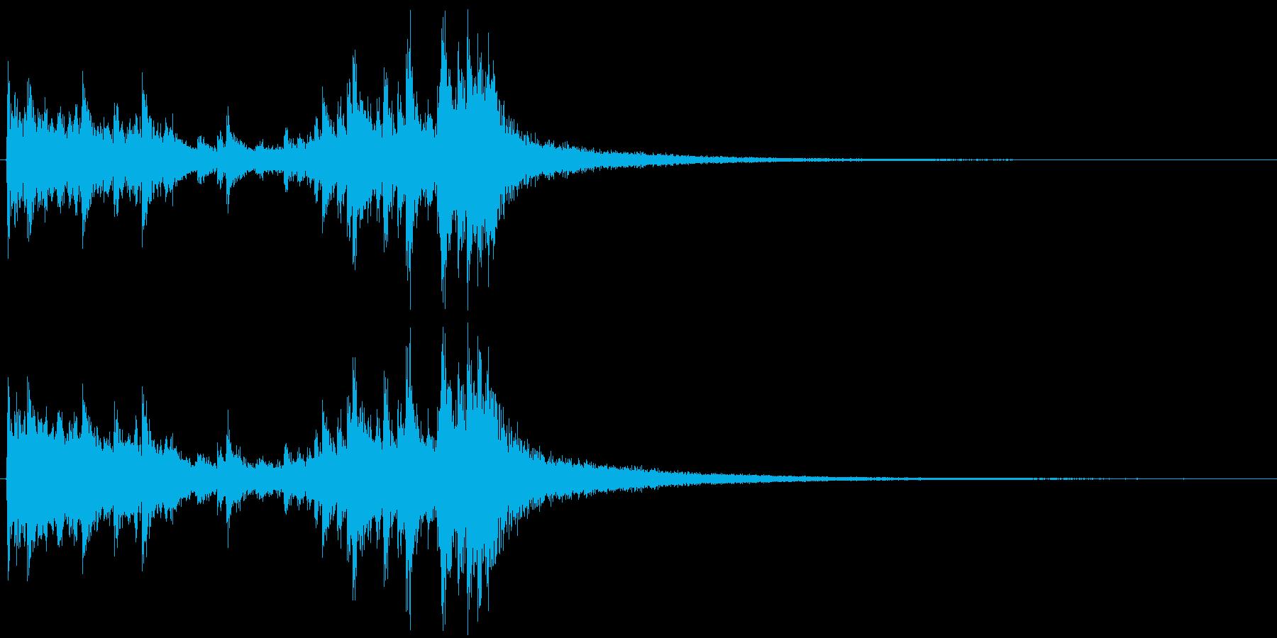 ドラムロール 約2秒でシンバルがなるの再生済みの波形