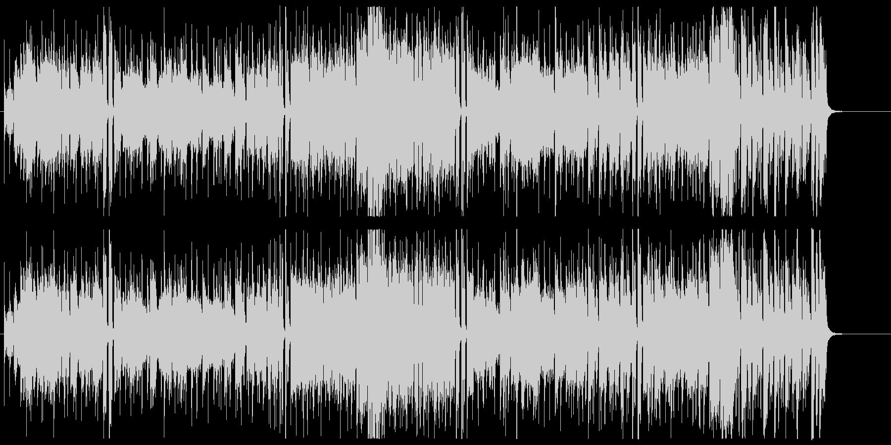 かっこいいオルガンファンク曲の未再生の波形