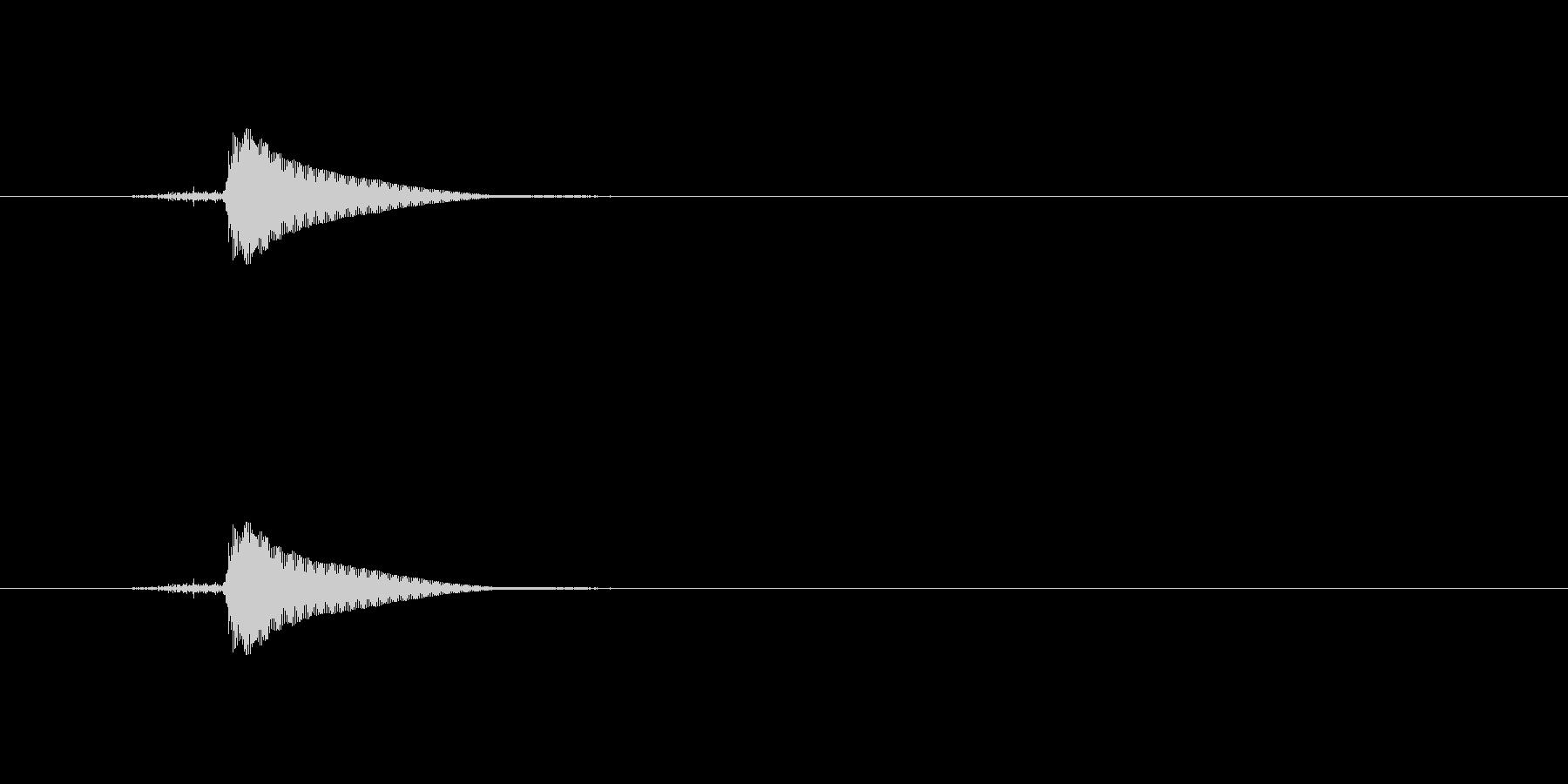 【ポンッ03-3】の未再生の波形