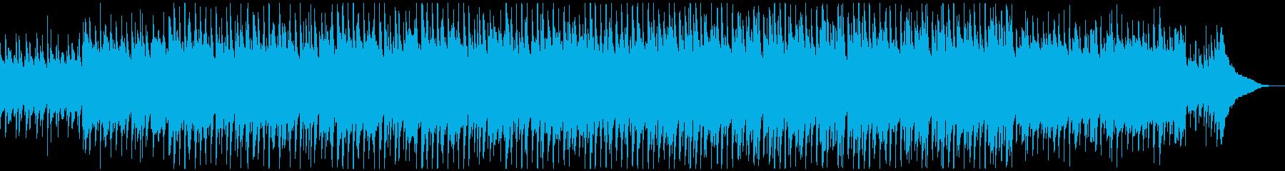 ほのぼのした明るいアコースティックポップの再生済みの波形