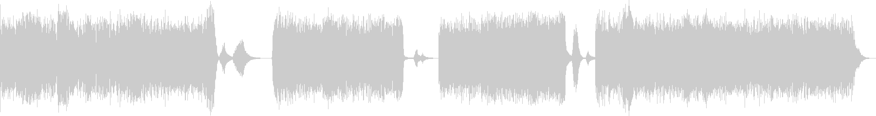 ドローン アンビエント クラブミュージ…の未再生の波形