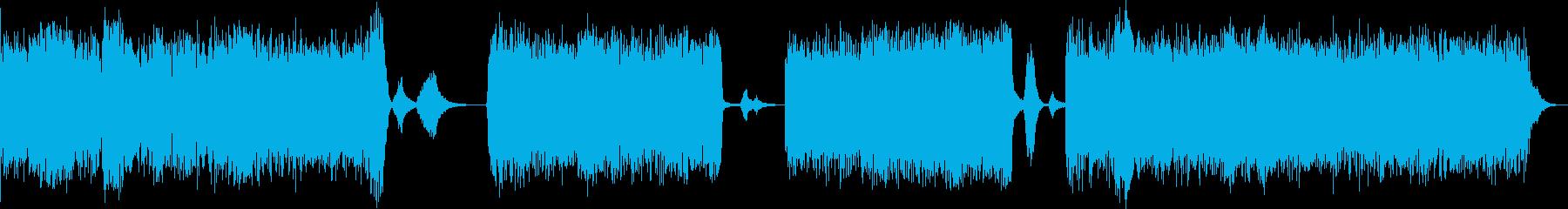 ドローン アンビエント クラブミュージ…の再生済みの波形
