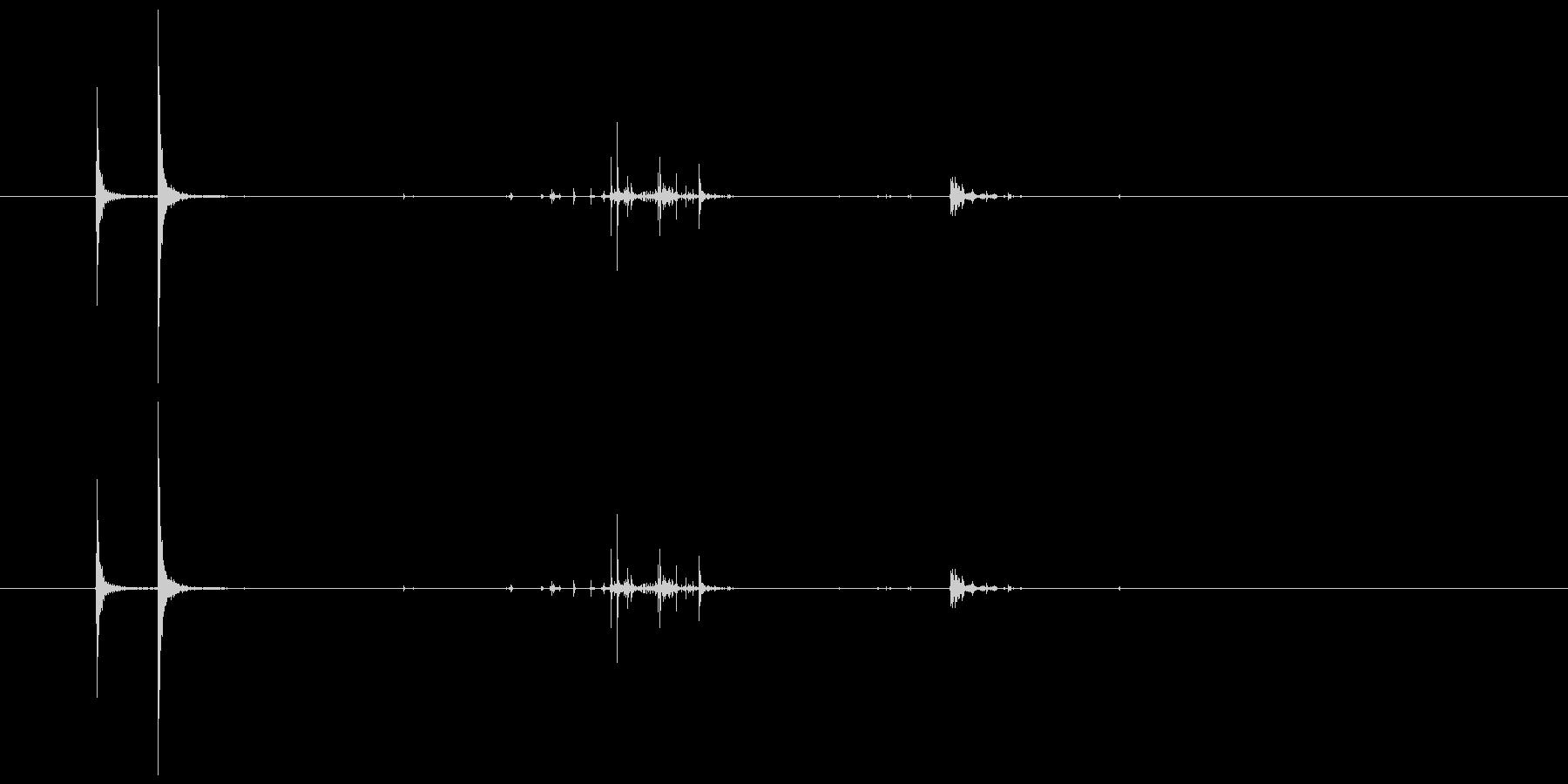 卵を割る音 録音 Crack Eggの未再生の波形