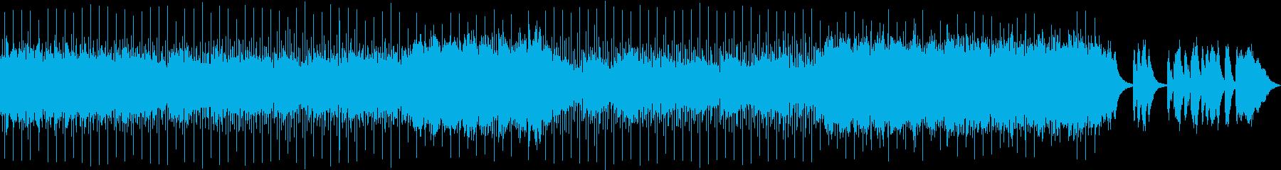 切ない、悲しい、シンセバラードの再生済みの波形