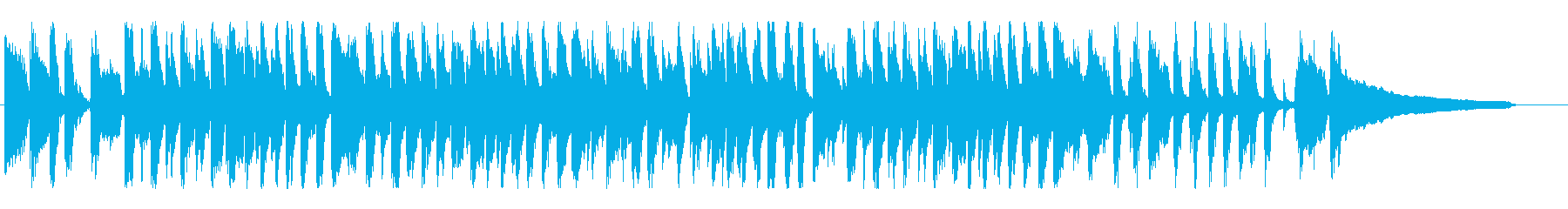 ライトジャズクリスマス「ひいらぎ飾ろう」の再生済みの波形