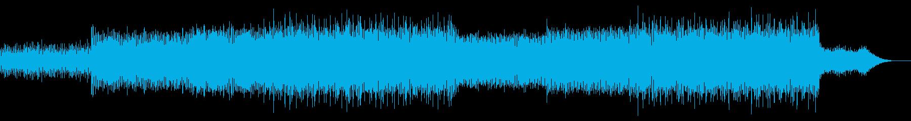 ニュース映像ナレーションバック向け-14の再生済みの波形