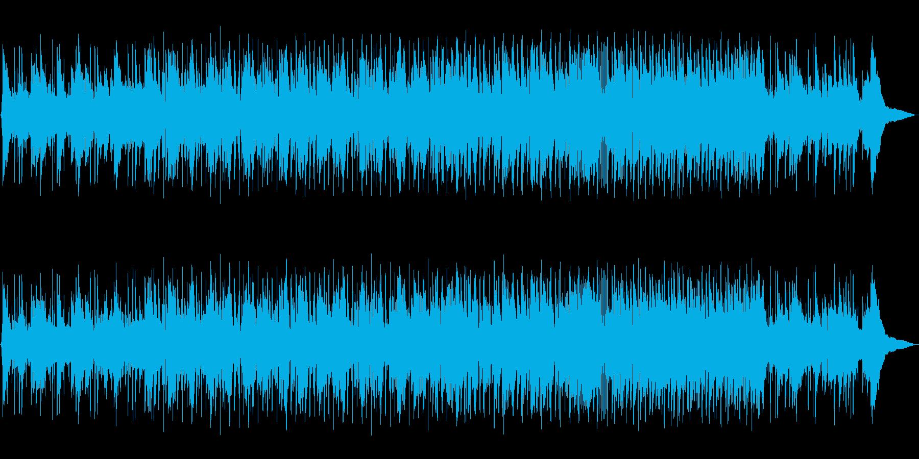 ギターによるリラックスしたポップスの再生済みの波形