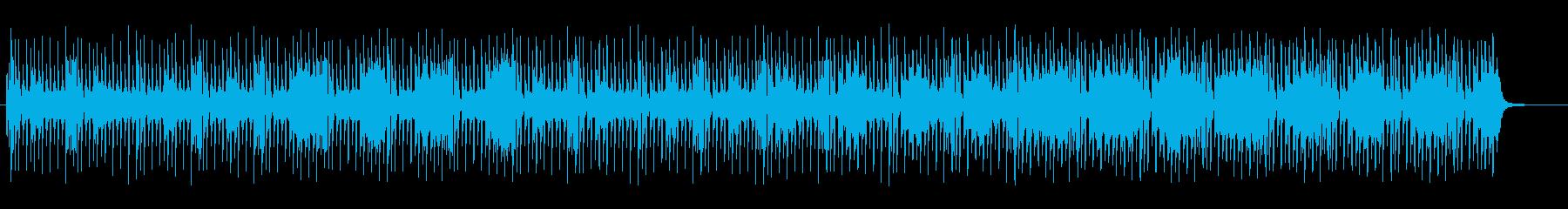 マイナーでリズミカルなメロディーポップの再生済みの波形