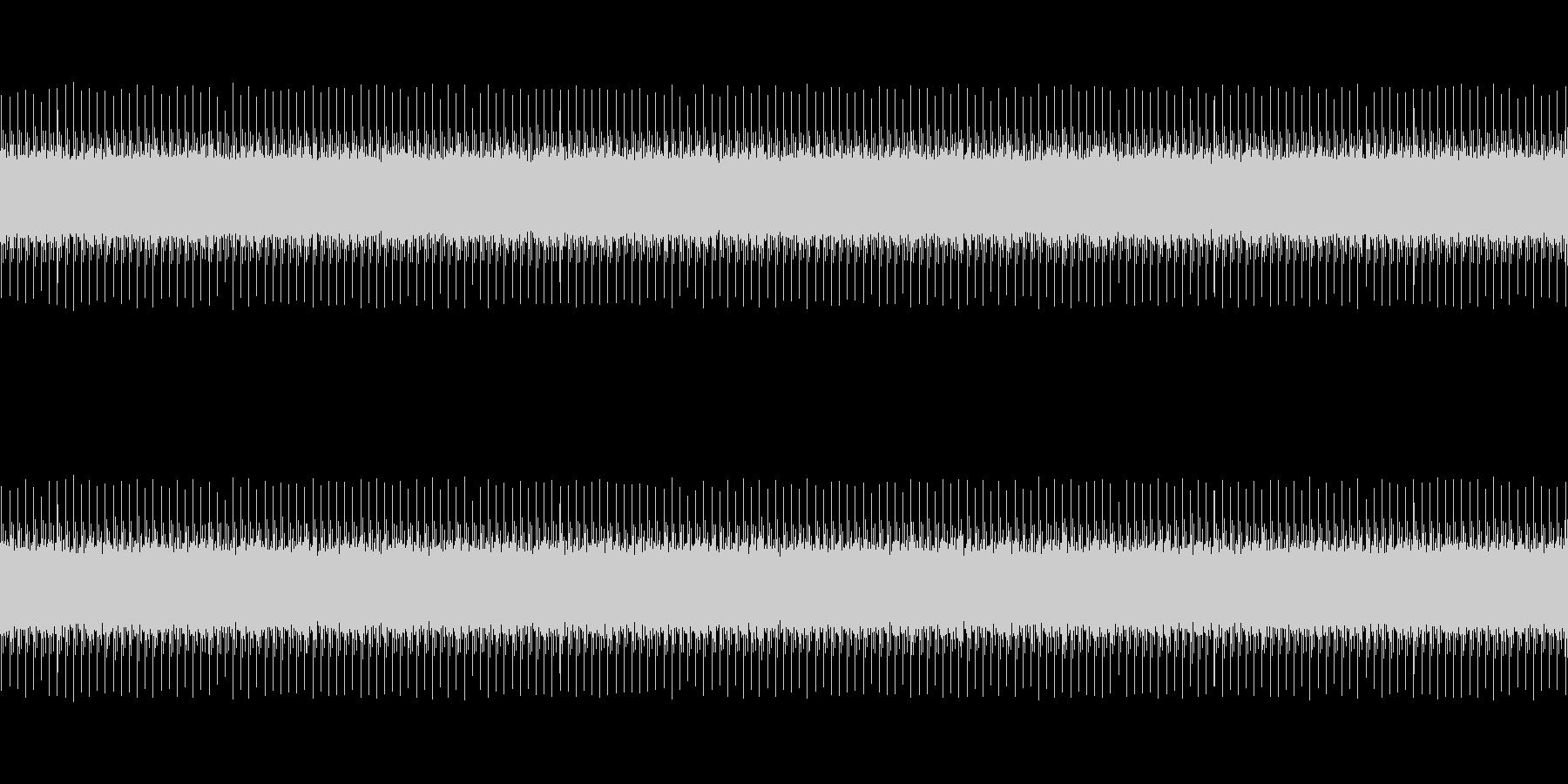 開演時の音の未再生の波形