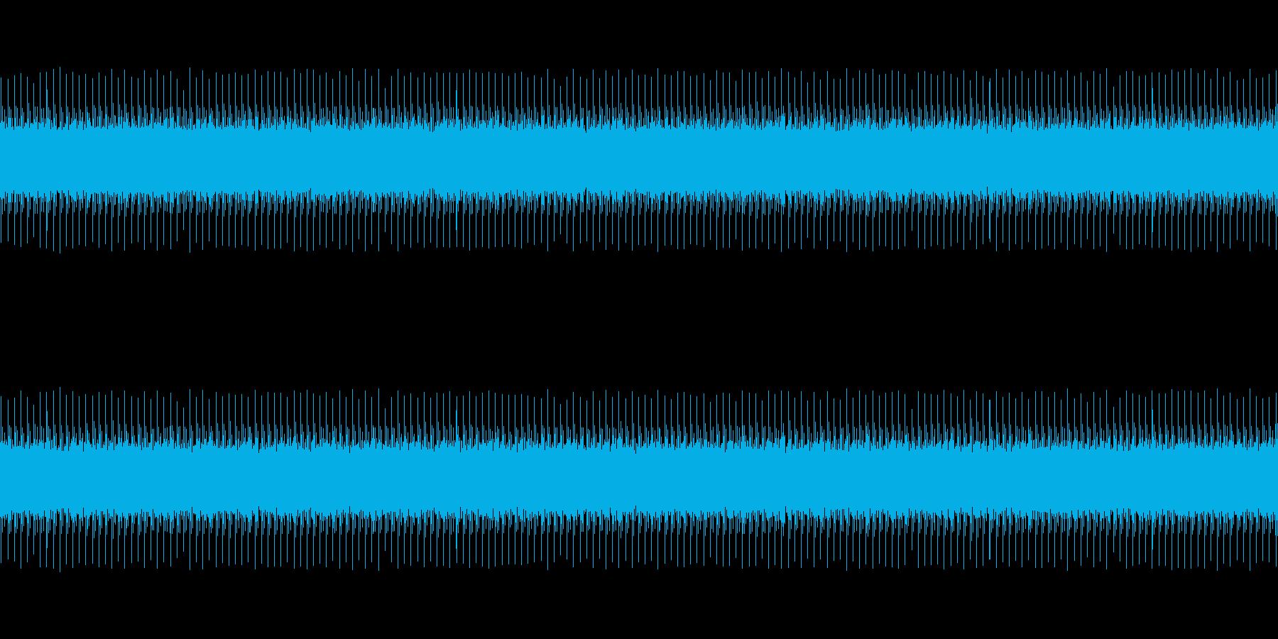 開演時の音の再生済みの波形