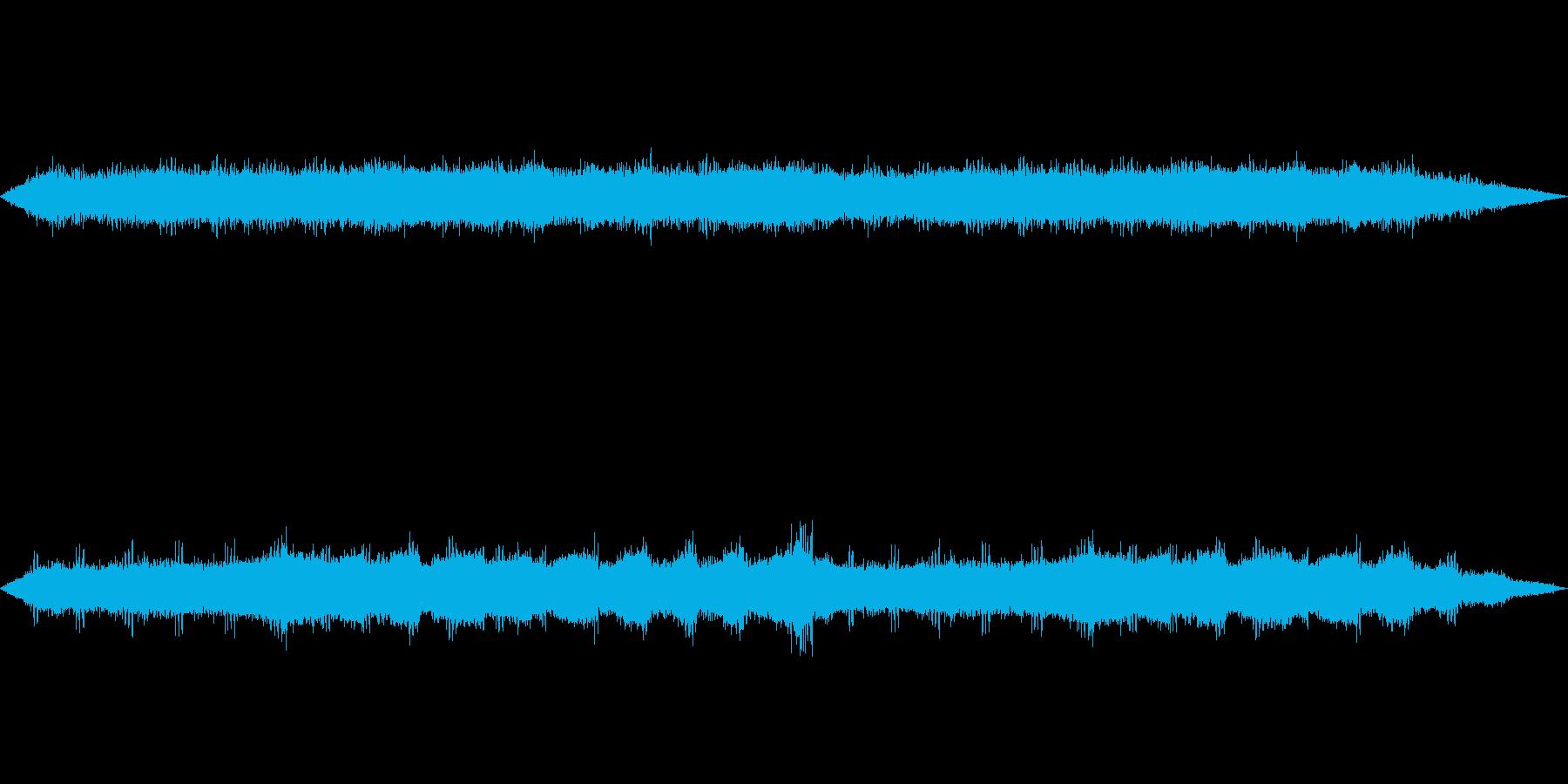 環境音-秋(虫の鳴き声)の再生済みの波形