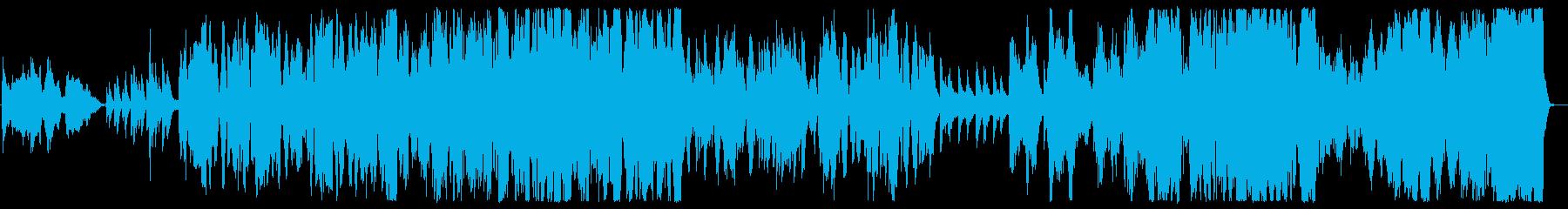 和と洋のコラボレーションの再生済みの波形
