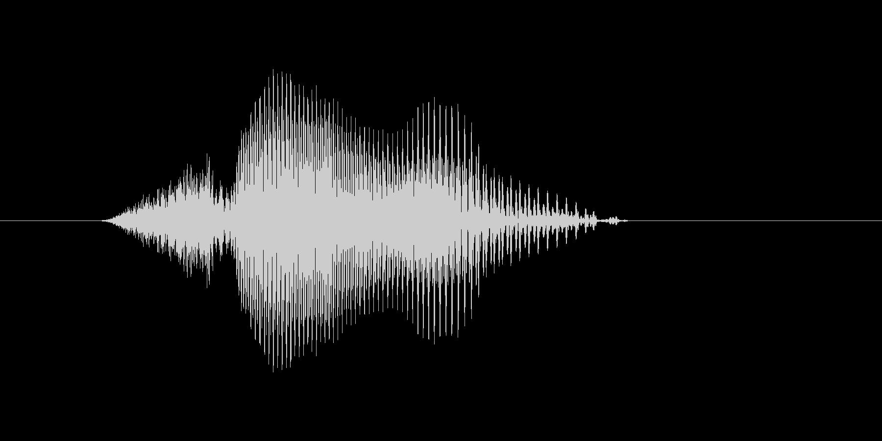 q,Q,Q(キュウ・キュー)の未再生の波形