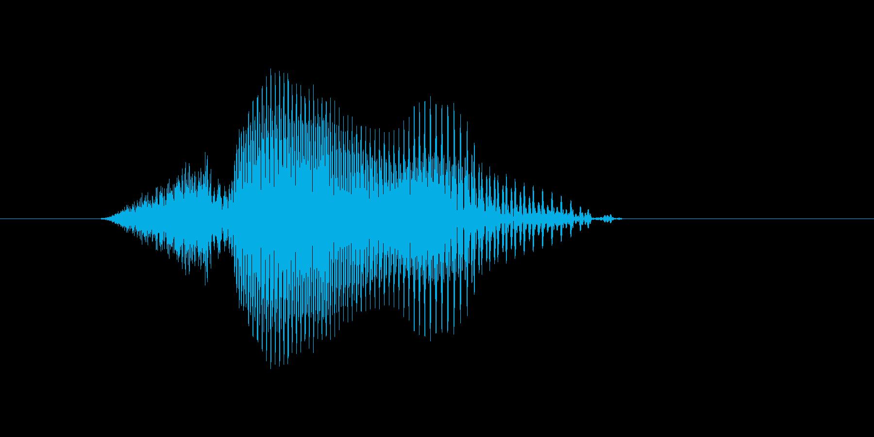 q,Q,Q(キュウ・キュー)の再生済みの波形
