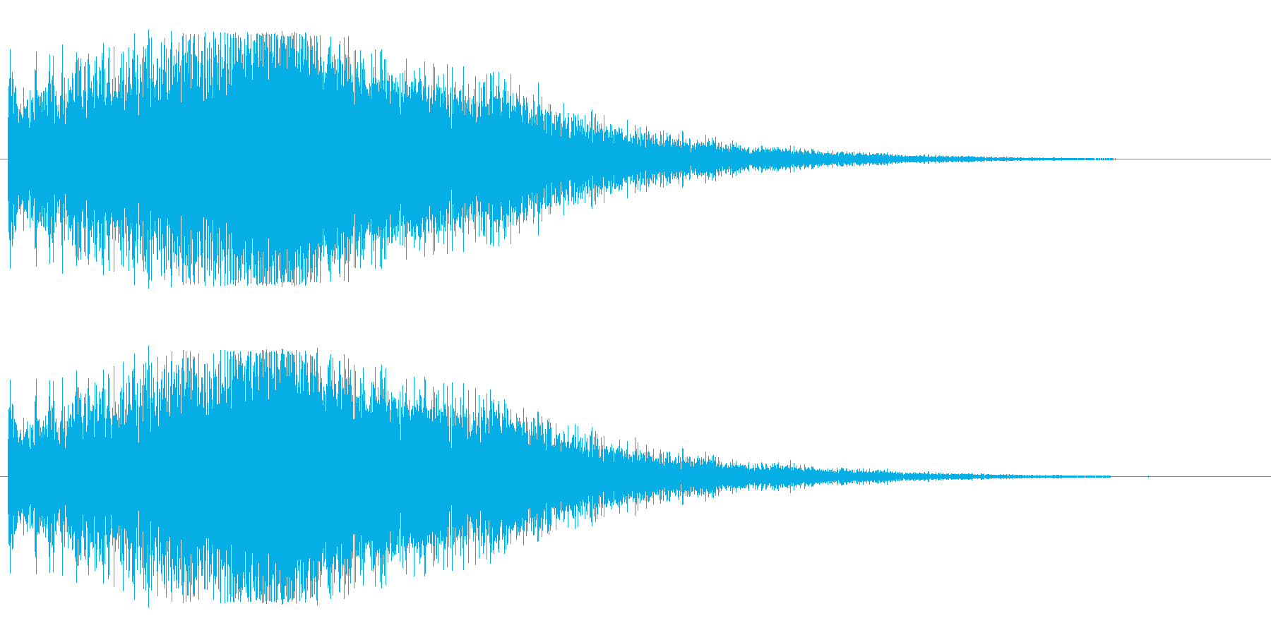 ビブラフォン系アップ(ビブラ)豪華の再生済みの波形