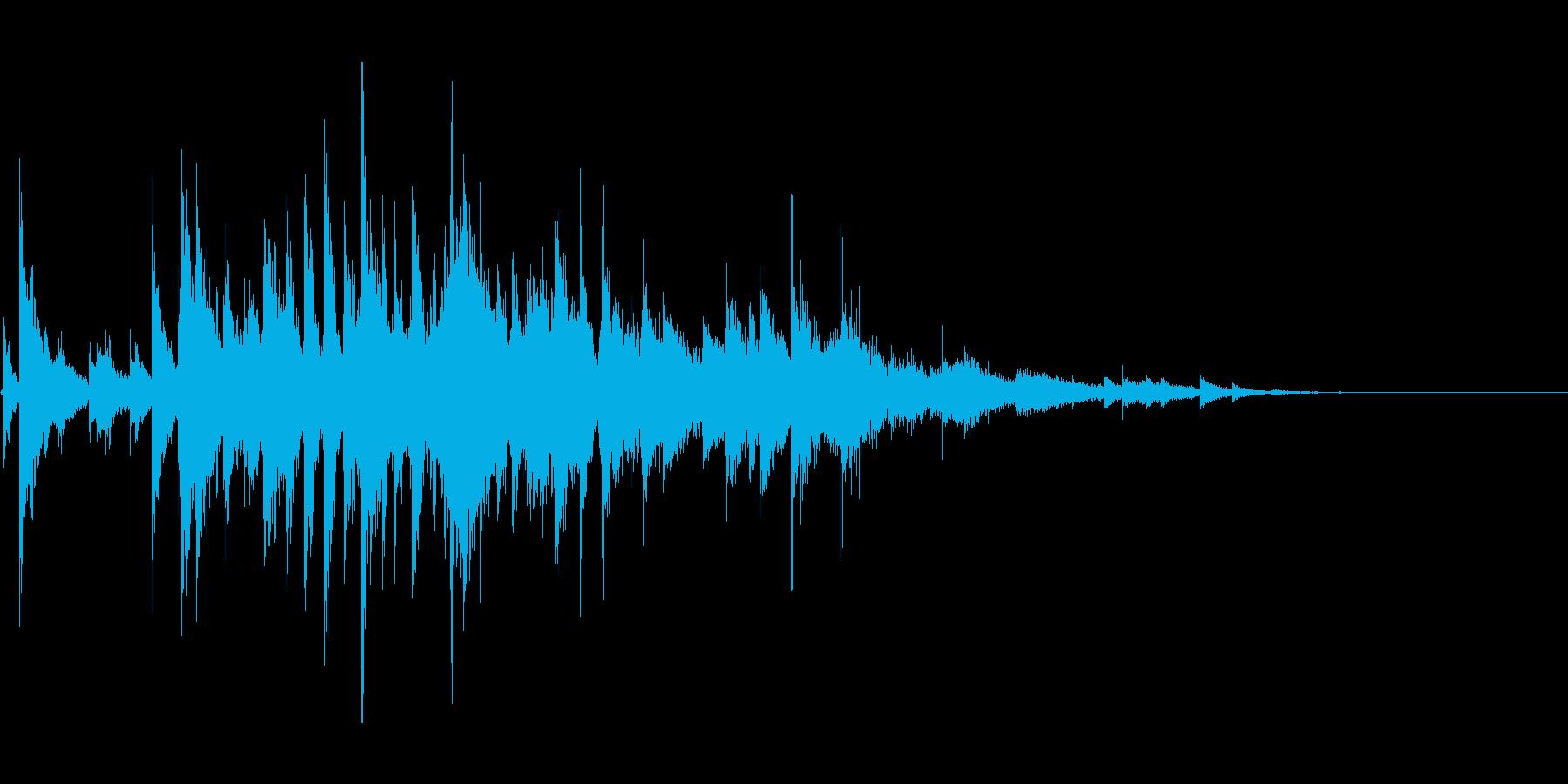 キラキラ(ウィンドチャイム)の再生済みの波形