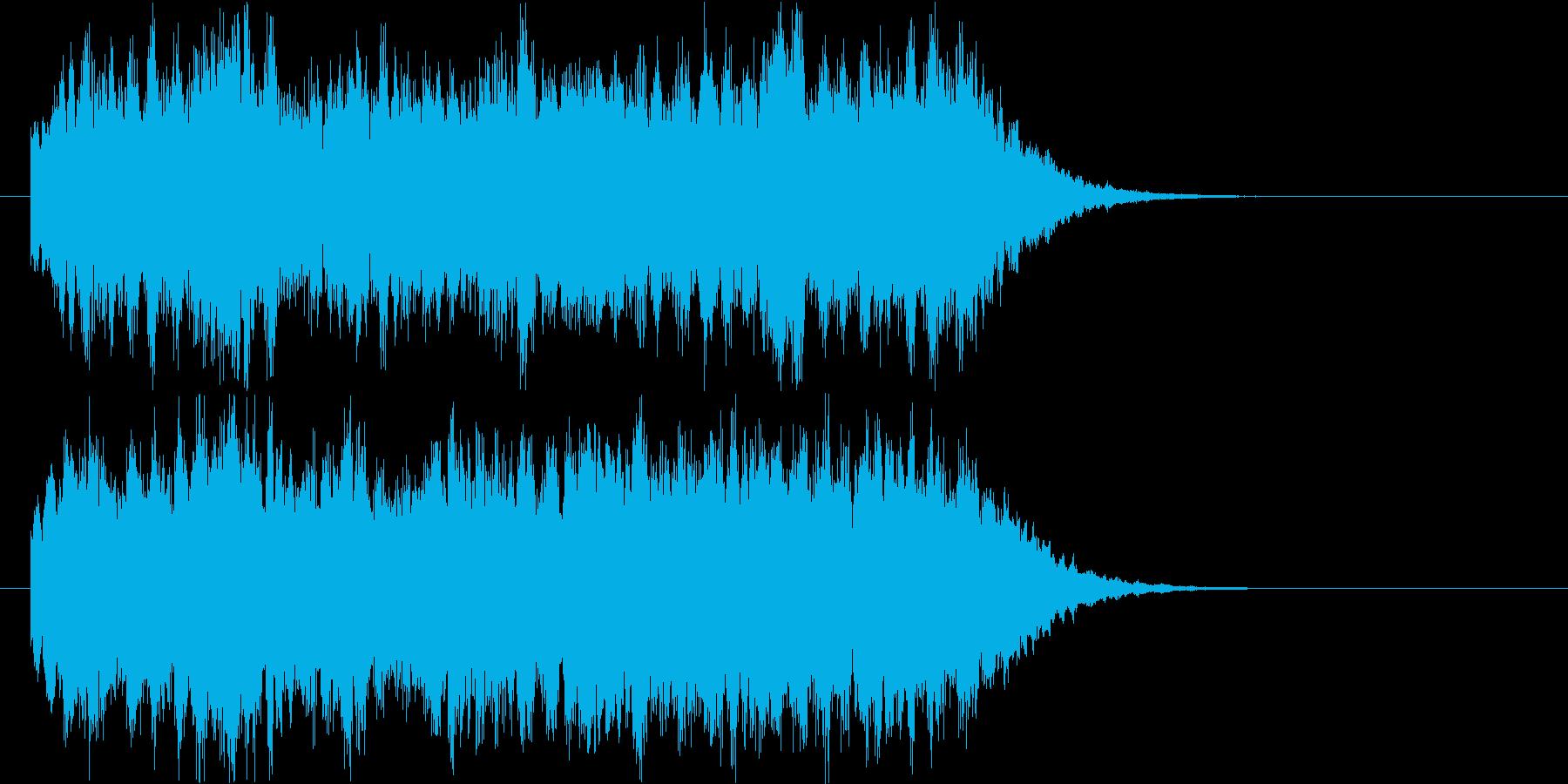 ジングル  奇妙 謎 不思議の再生済みの波形