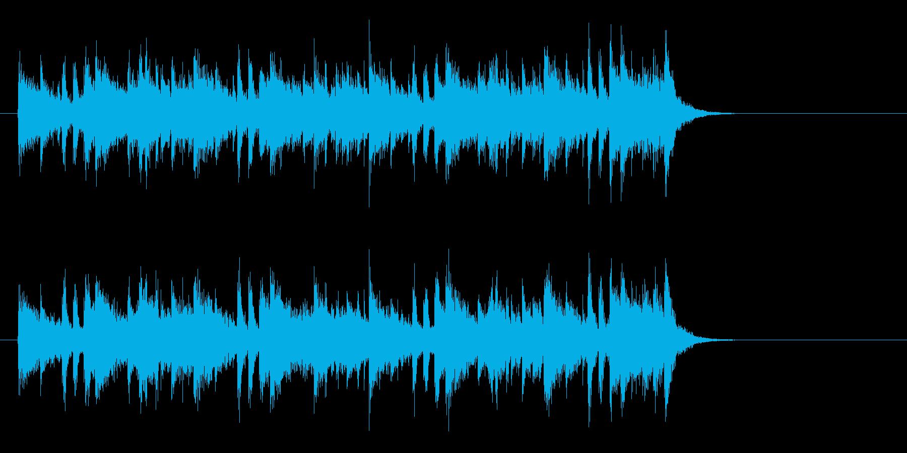 大人の軽快なフュージョン(イントロ)の再生済みの波形