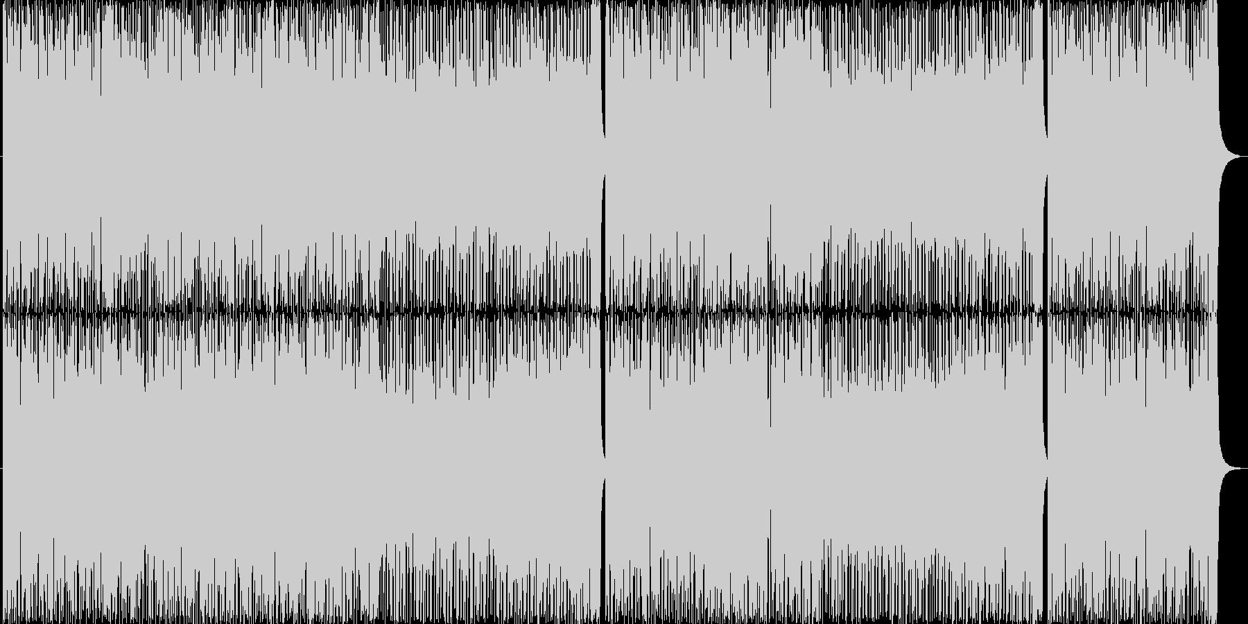 民族音楽調 爽やか 疾走感 フルートの未再生の波形