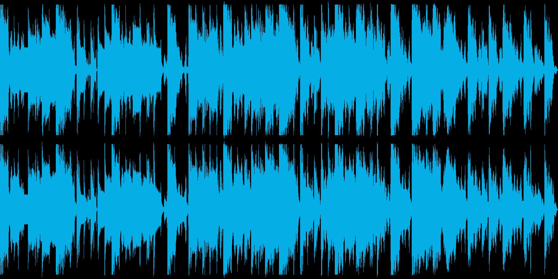 ループ,リラックス,ゲーム,ゆるアニメの再生済みの波形