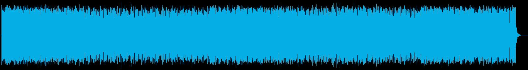 爽やかで明るいミュージックの再生済みの波形