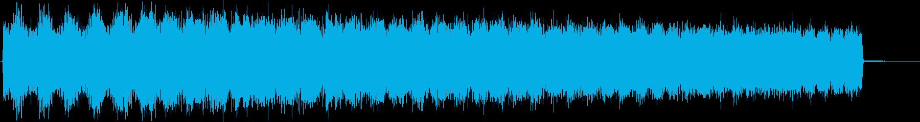 キュイーーン↑(長いチャージ、溜め)の再生済みの波形
