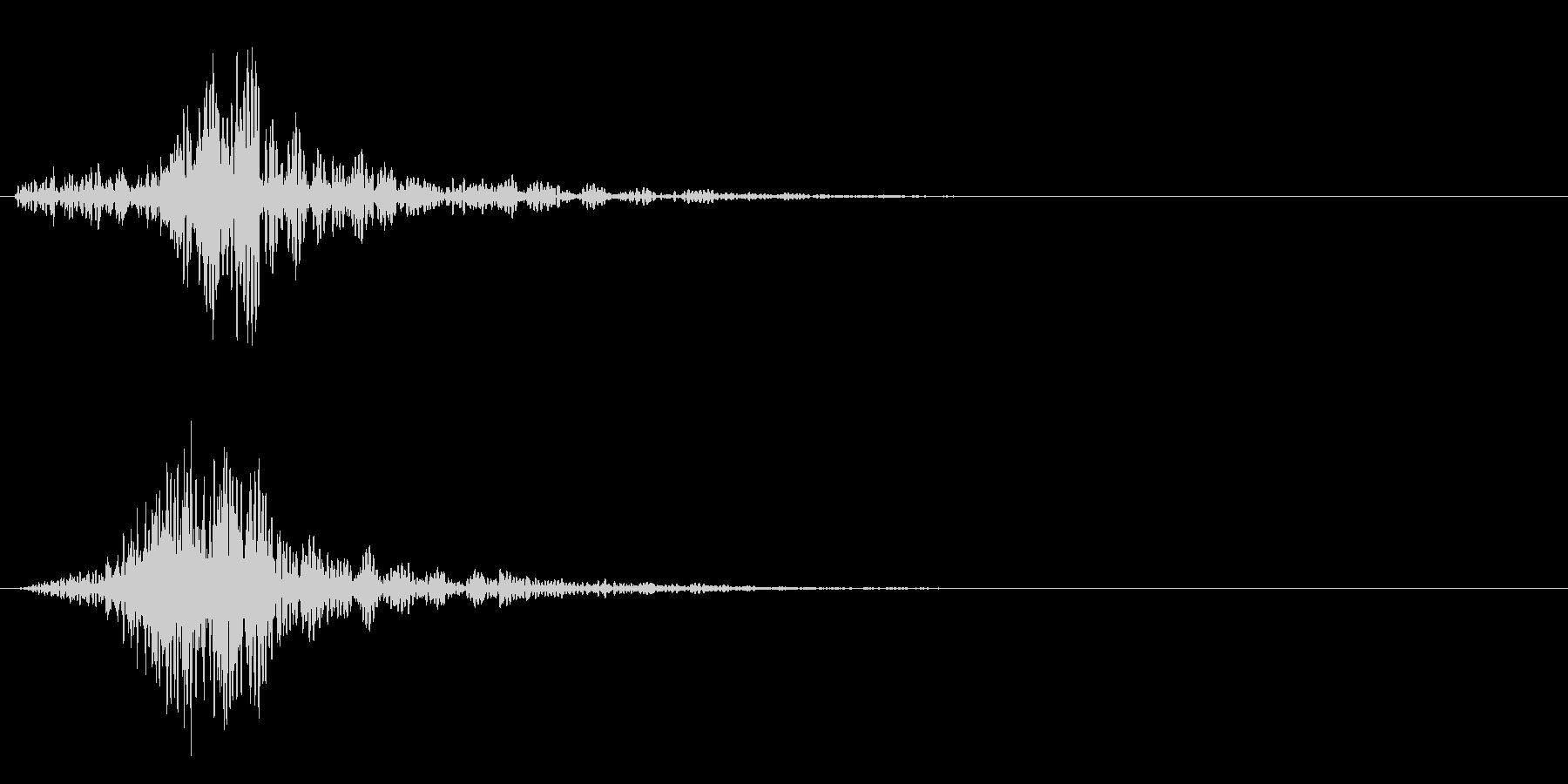 シャッ!カットイン/風切り/場面転換03の未再生の波形