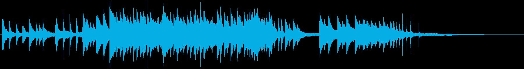 和を感じさせる旋律の切ないピアノソロの再生済みの波形