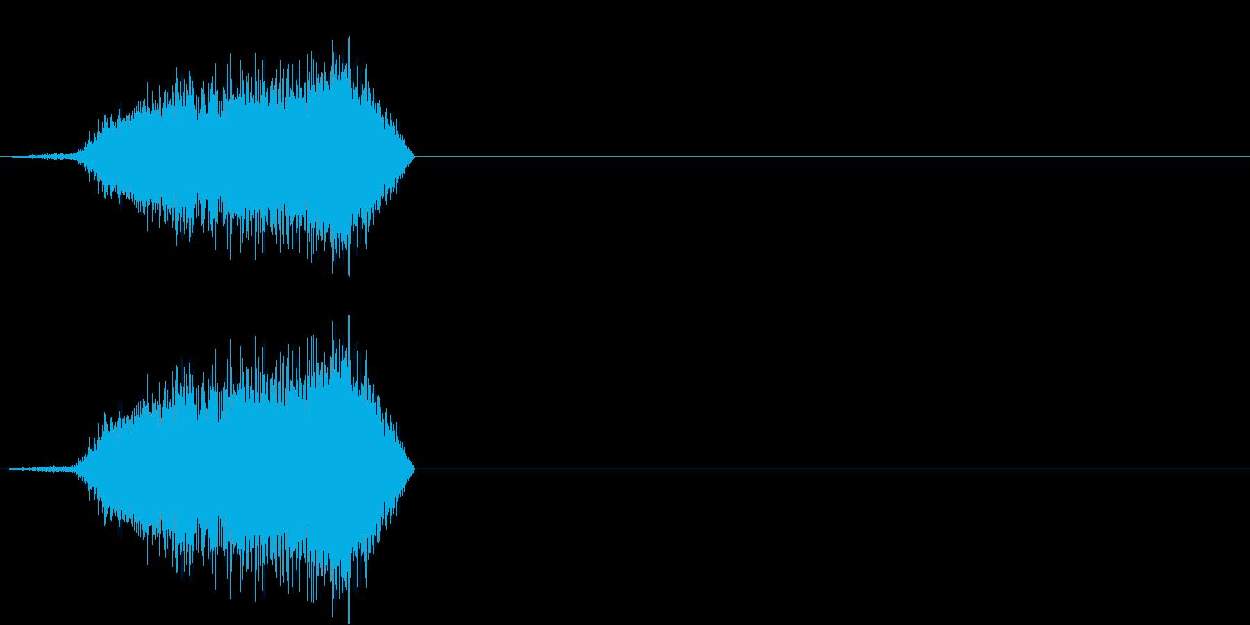 シューの再生済みの波形
