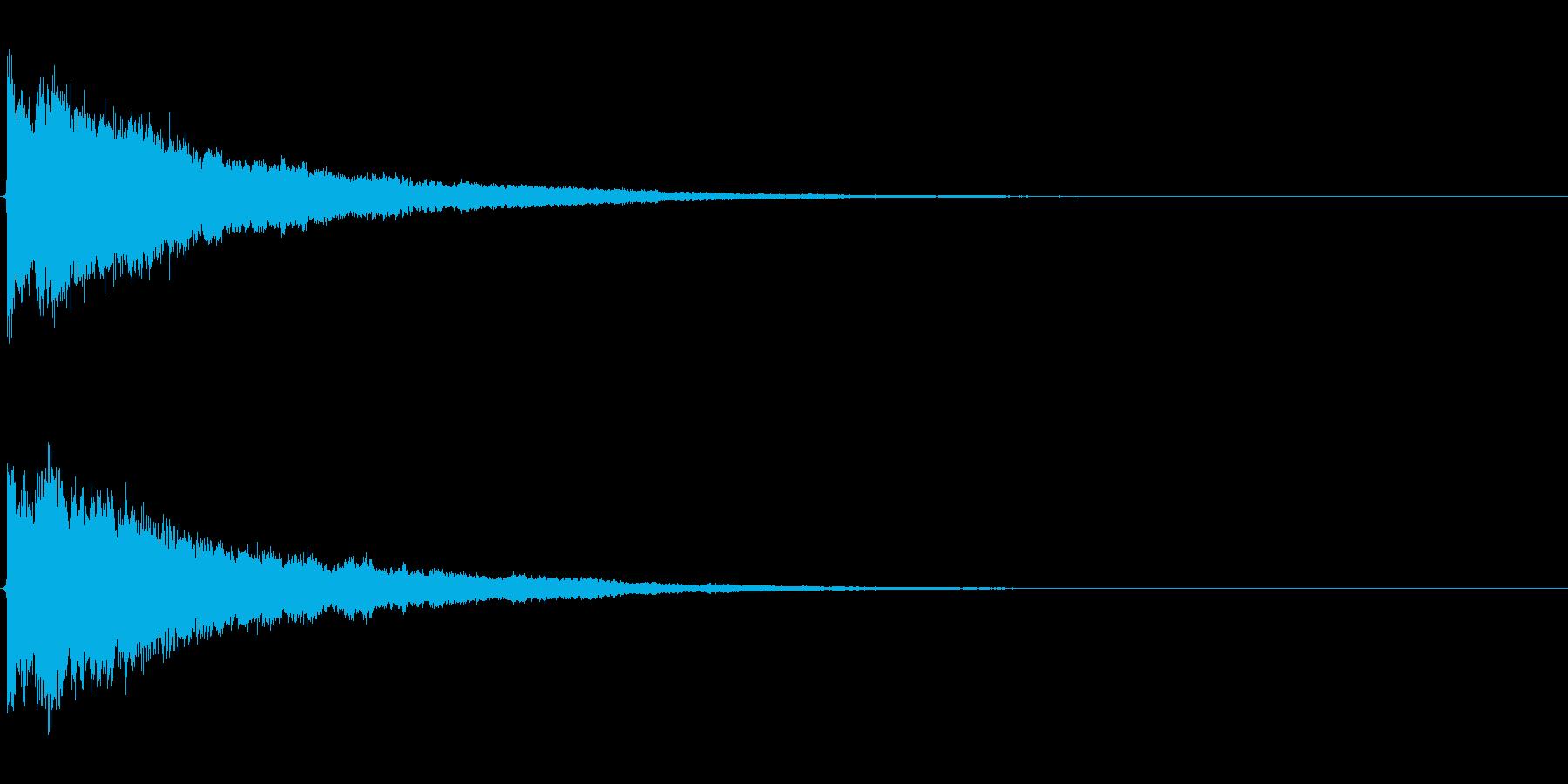 ゲームスタート、決定、ボタン音-094の再生済みの波形