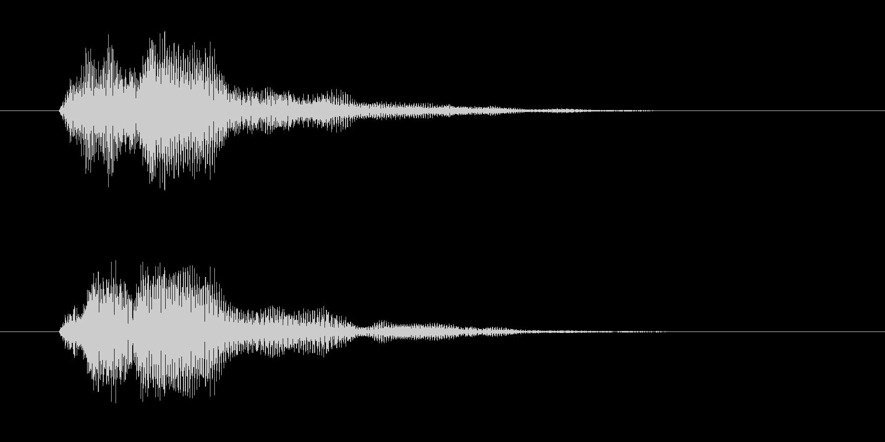 ファン(決定音・セーブ&ロード・魔法)の未再生の波形