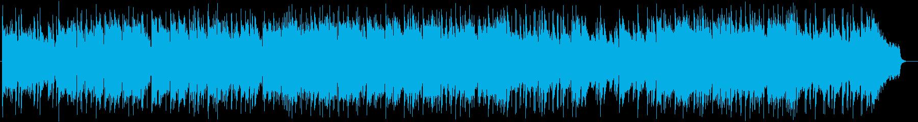 ゆったりと優しい温かみあるピアノバラードの再生済みの波形