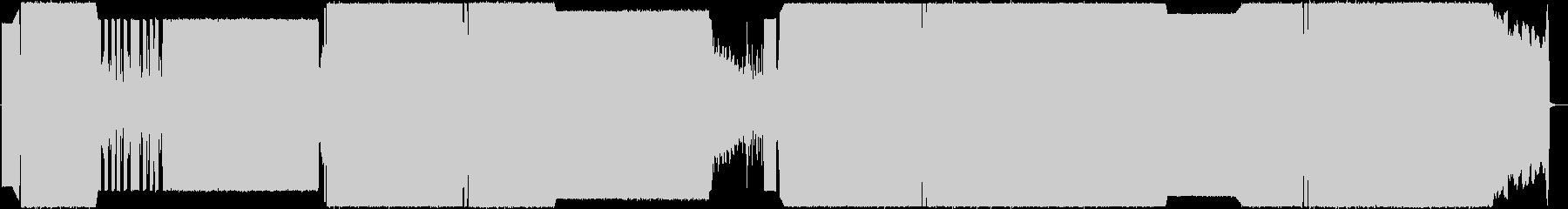 シンセ+ロックサウンドの未再生の波形