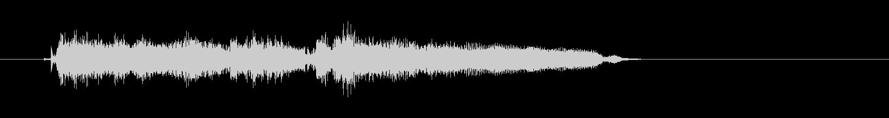 【生音】クリーンギターのロック系ジングルの未再生の波形