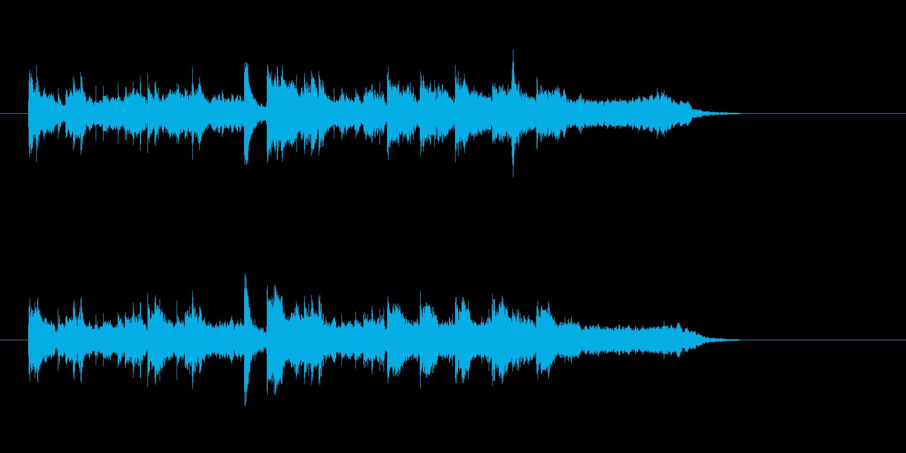 ほのぼの 日常 リラックス 明るいの再生済みの波形