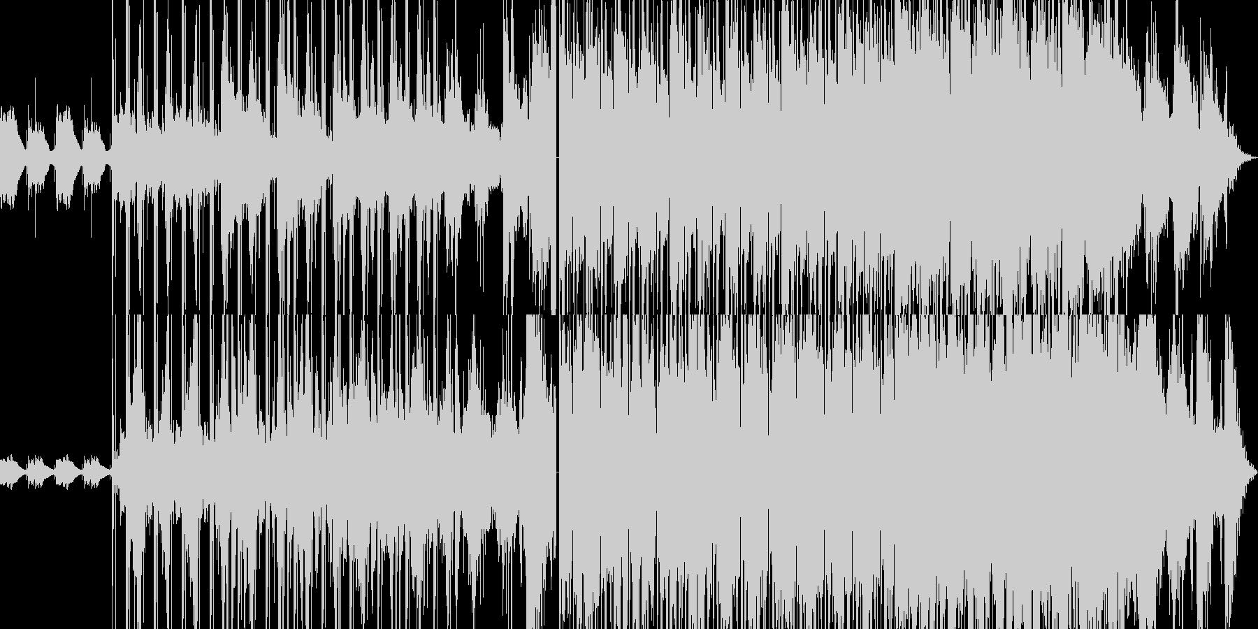 クラシックギター + チルトラップの未再生の波形