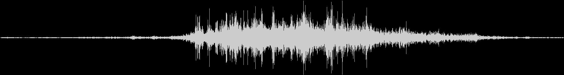 バイノーラル録音戦闘機1の未再生の波形