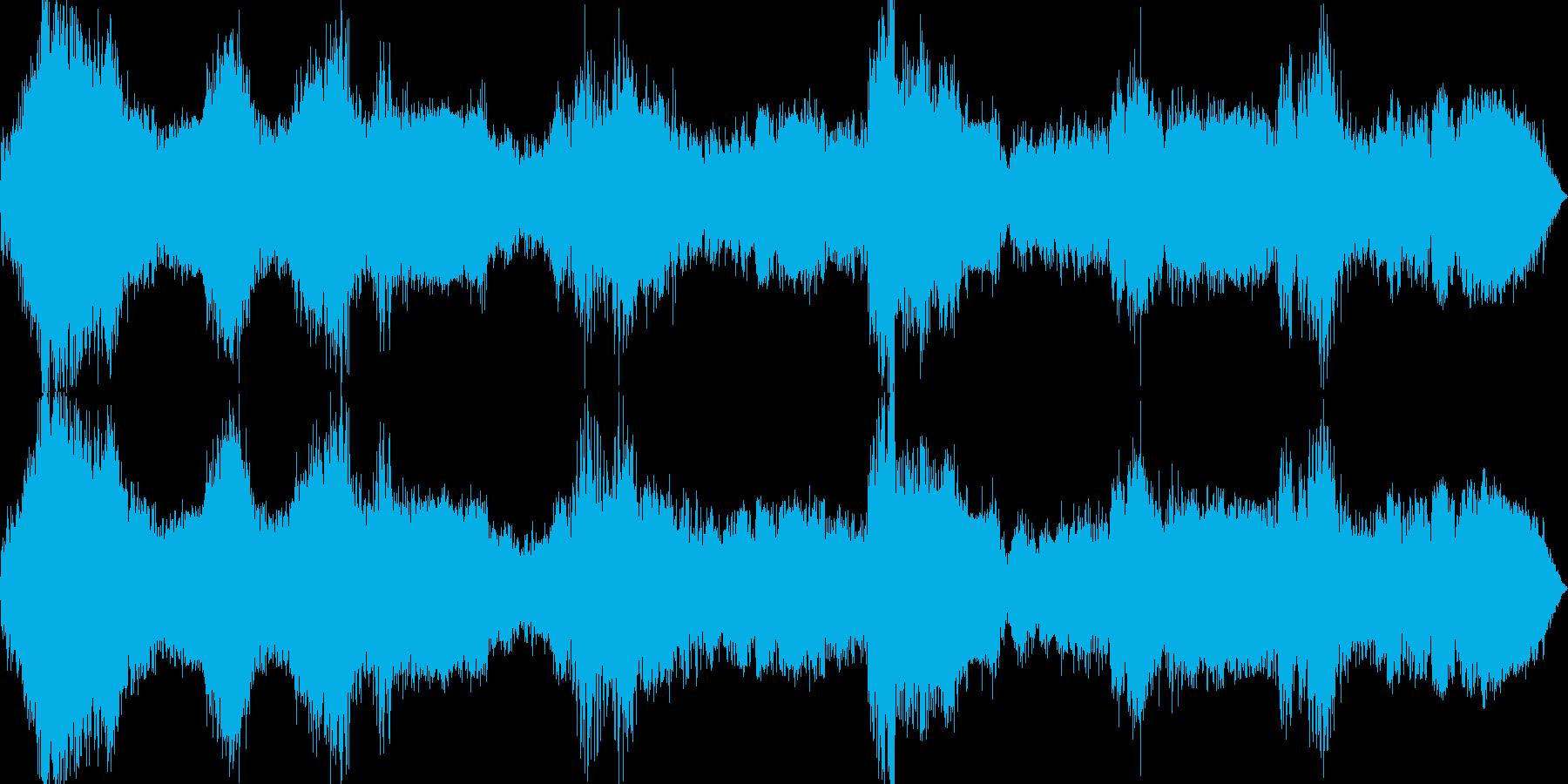 カーチェイスの再生済みの波形