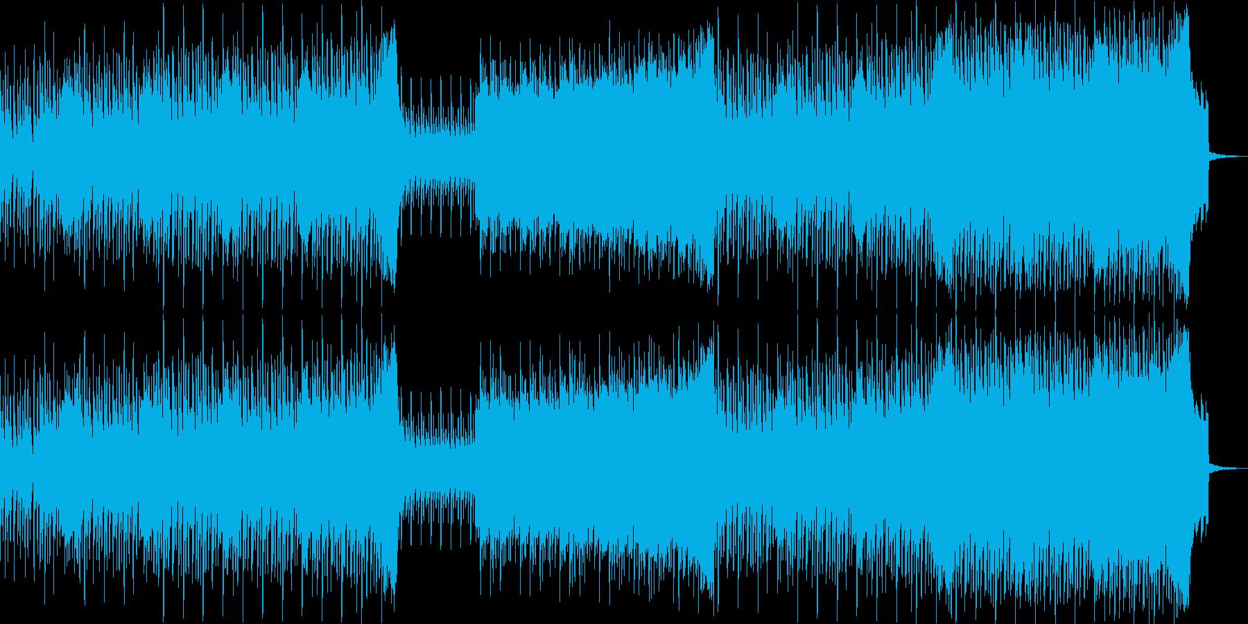 80年代ぽいディスコなハウスミュージックの再生済みの波形