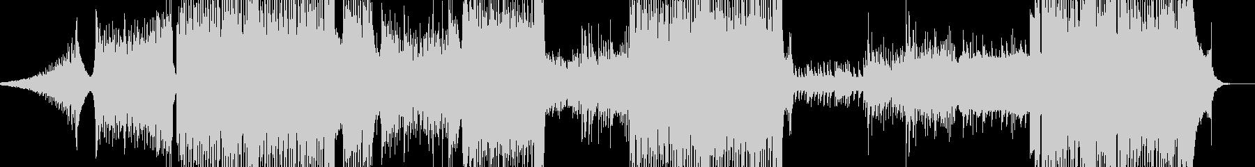 冬景色イメージのピアノトランスの未再生の波形