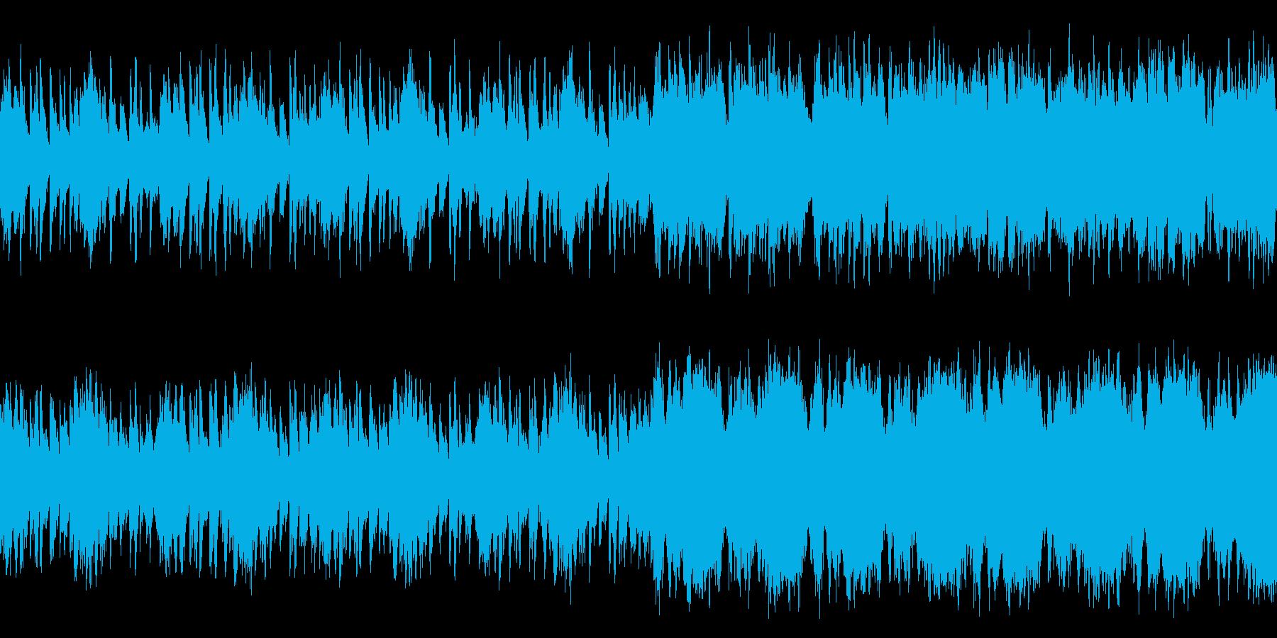 部族 民族 ループの再生済みの波形