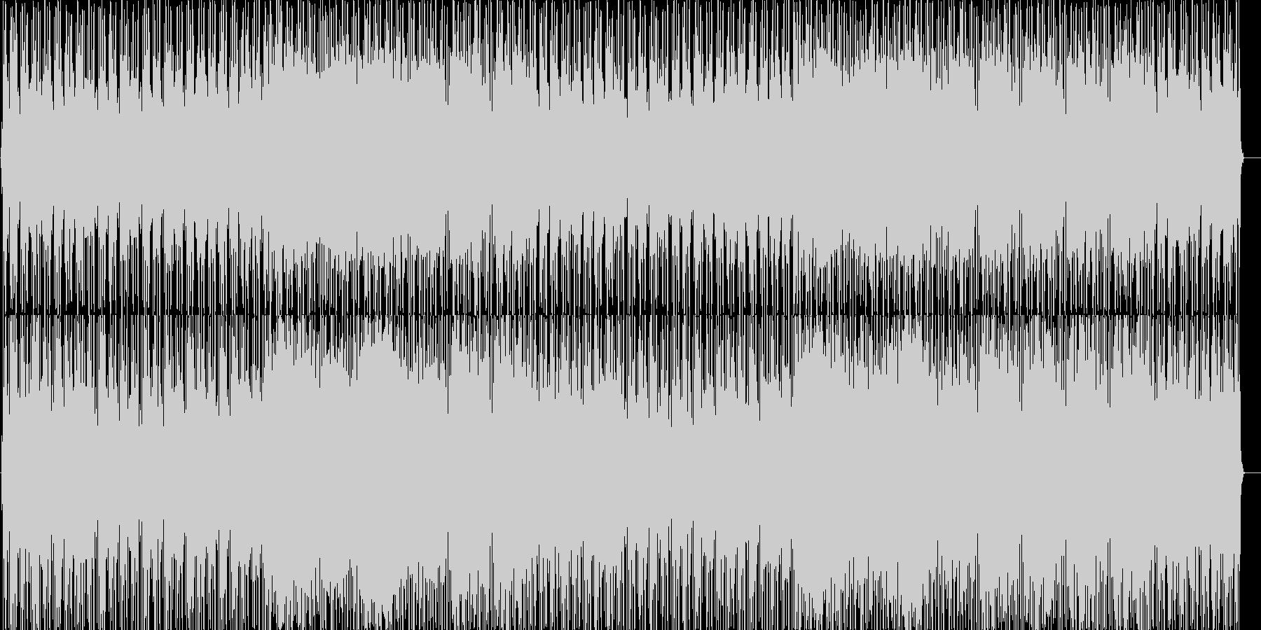 PV等の映像にぴったりの爽やかポップスの未再生の波形